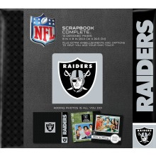 "Oakland Raiders 8"" X 8"" Complete Scrapbook"