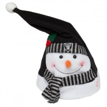 Oakland Raiders Animated Snowman Hat