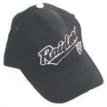 Oakland Raiders Banner Adjustable Hat Cap Lid