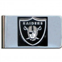 Oakland Raiders Bar Money Clip