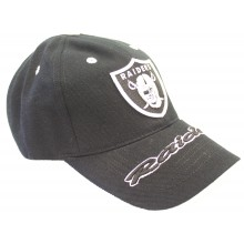 Oakland Raiders Bold Bill Adjustable Hat Cap Lid