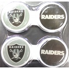 Oakland Raiders 2 Pack Contact Lens Case