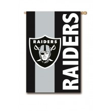 Oakland Raiders Embellish House Flag