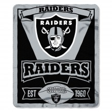 "Oakland Raiders 50"" x 60"" Marque Fleece Throw Blanket"
