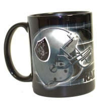 Oakland Raiders 11 oz Reflections Mug
