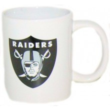 New Oakland Raiders 11 oz White Ceramic Mug