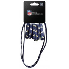 Los Angeles Rams 8 Piece Ponytail and Headband Set