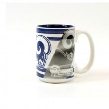 Los Angeles Rams 15oz Shadow Ceramic Mug