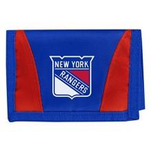 New York Rangers Tri-Fold Nylon Chamber Wallet