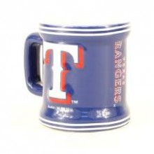 Texas Rangers Mini Mug 2 oz Shot Glass