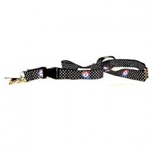 MLB Texas Rangers Polka Dot Breakaway Lanyard Key Chain