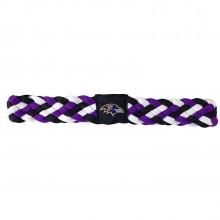 Baltimore Ravens Braided Headband
