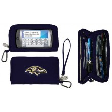 Baltimore Ravens Deluxe Touch Smartphone Wallet Case