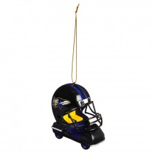 Baltimore Ravens  Field Car Ornament