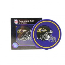 Baltimore Ravens 4 pack Flexible Coaster Set