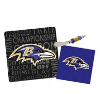 Baltimore Ravens It's A Party Gift Set