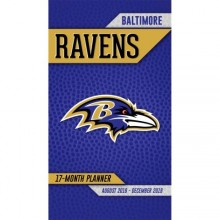 Baltimore Ravens 17 Month Pocket Planner (2018-2018)
