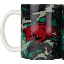 Arkansas Razorbacks Camouflage 11oz Coffee Mug