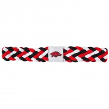 Arkansas Razorbacks Braided Headband
