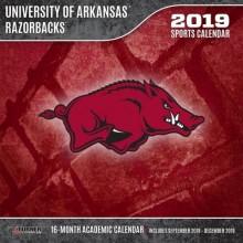 Arkansas Razorbacks 12 x 12 Wall Calendar (2019)
