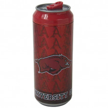 Arkansas Razorbacks Cool Gear 16 oz  Insulated Travel Drink Can