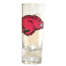 Arkansas Razorbacks 2 oz Cordial Shot Glass