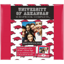 "Arkansas Razorbacks 8"" X 8"" Complete Scrapbook Kit"
