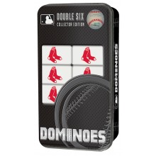 Boston Red Sox Collectors Edition Double Six Dominoes