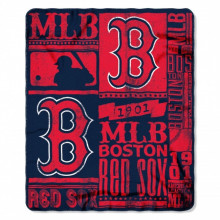 "Boston Red Sox 50"" x 60"" Established Fleece Throw Blanket"
