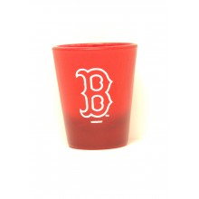 Boston Red Sox Frosted 2 oz Shot Glass