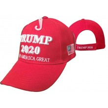 Adjustable 3D Embroidered Trump 2020 Campaign Cap