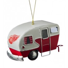 Detroit Red Wings 3-D Tin Camper Ornament
