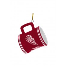 Detroit Red Wings Ceramic Mini Mug Ornament