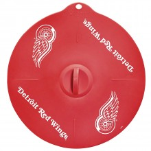 "Detroit Red Wings 9"" Silicone Lid"