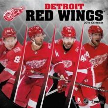 Detroit Red Wings 12 x 12 Wall Calendar 2019
