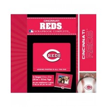 Cincinnati Reds 12 x 12 Complete Scrapbook Kit