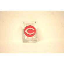 Cincinnati Reds Square 2 oz Big C  Logo Shot Glass
