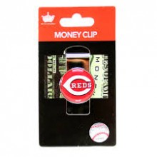 Cincinnati Reds Dome Logo Money Clip