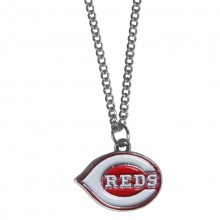 Cincinnati Reds Logo Chain Necklace