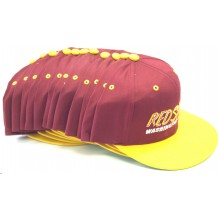 Washington Redskins 12 Pack of Vintage Flat Bill Embroidered Snapback Hats