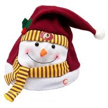 Washington Redskins Animated Snowman Hat