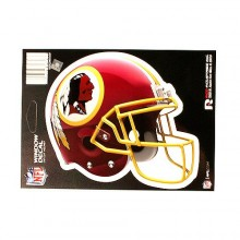 """Washington Redskins 6"""" Helmet Die-Cut Window Decal"""