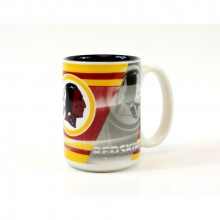 Washington Redskins 15oz Shadow Ceramic Mug