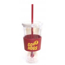 "Washington Redskins ""Go Hogs"" 22 oz Slogan Tumbler"