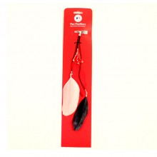 Boston Red Sox Feather Hair Clip