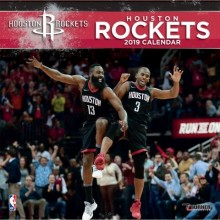 Houston Rockets 12 x 12 Wall Calendar