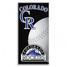"Colorado Rockies 30"" x 60"" Baseball Beach Towel"