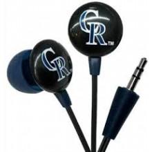 Colorado Rockies Ihip Earbuds Headphones