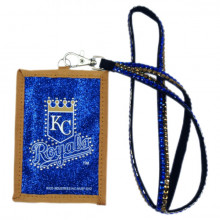 Kansas City Royals Beaded Lanyard I.D. Wallet