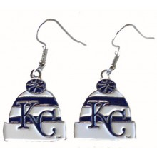 Kansas City Royals Beanie Logo Dangle Earrings